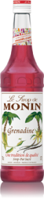 MONIN GRENADINE SYRUP 1L PET