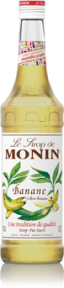 MONIN BANANA YELLOW SYRUP 0,7 L