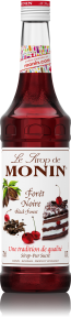 MONIN BLACK FOREST SYRUP 0,7L