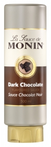 MONIN DARK CHOCOLATE SAUCE 500 GR