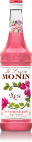 MONIN ROSE SYRUP 0,7L