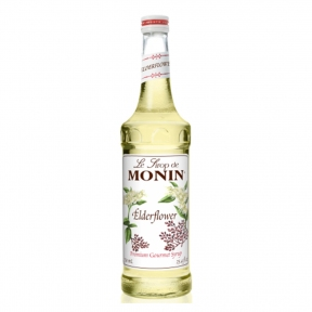 MONIN ELDER FLOWER SYRUP 0,7L