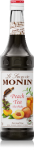 MONIN PEACH TEA SYRUP 0,7L